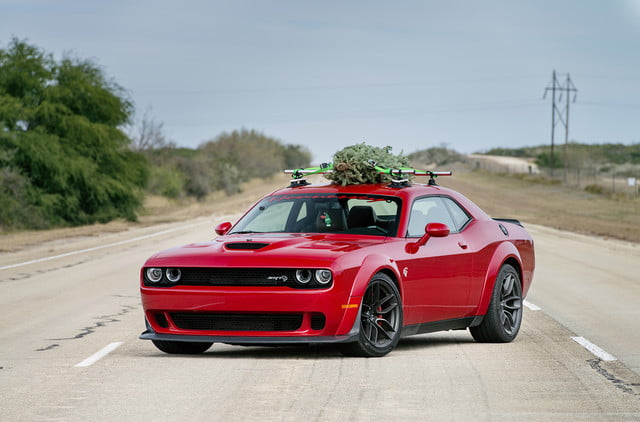 hennessey and dodge takes record for worlds fastest christmas tree 174mph 01