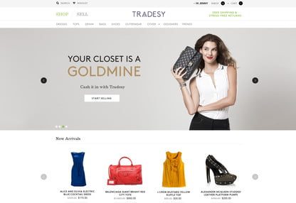 Tradesy, a second market for authentic designer clothes