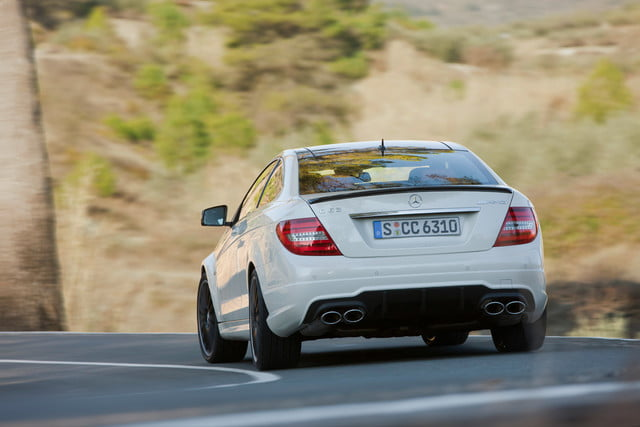 11 cars that will go extinct in 2016 2012 mercedes benz c63 amg coupe 8