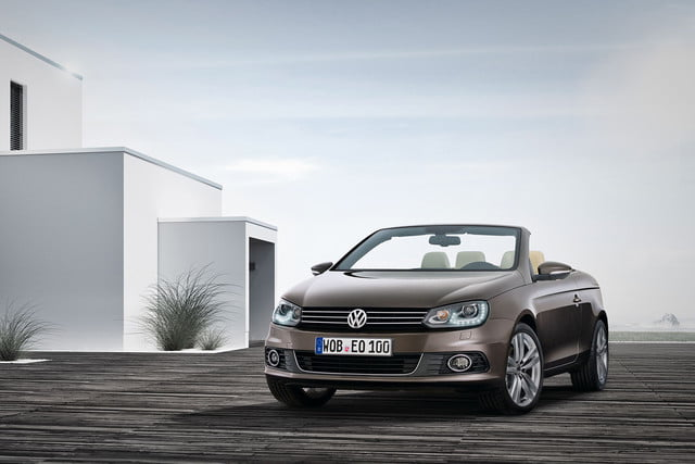 vw separately know fuel efficiency numbers off year ago 2012 volkswagen eos 2