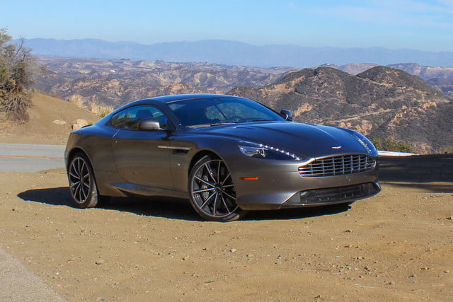 2016 Aston Martin DB9 GT back