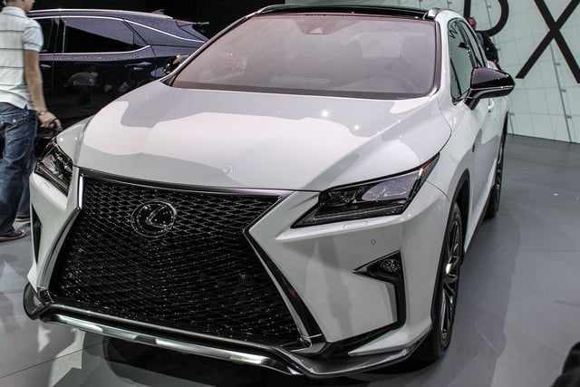 2016 Lexus RX front angle close