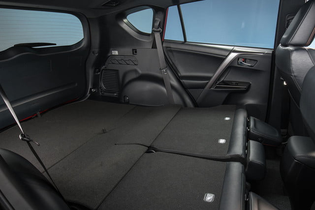 2016 toyota rav4 first drive se interior