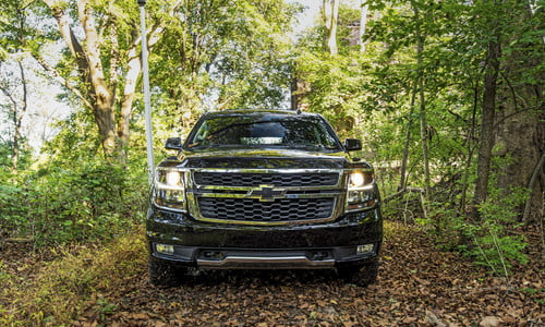 The 2018 Chevrolet Tahoe Midnight Edition Ghost Hunt