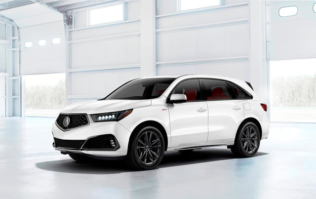 acura surprises with an mdx a spec at new york 2019