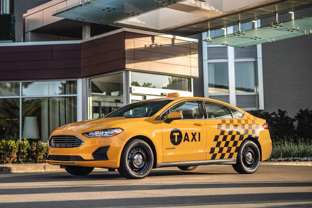 2019 Ford Fusion Hybrid Taxi