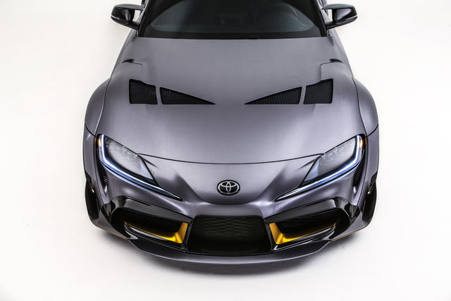 toyota displaying eight supra based builds at sema 2019 grsupra 3000gt 010