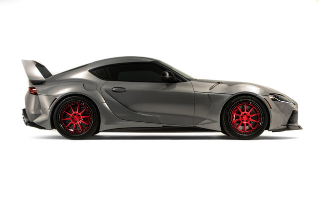 toyota displaying eight supra based builds at sema 2019 grsupra hyperboost 011