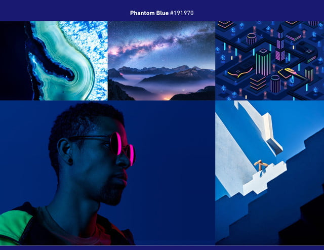 2020 photography trends phantom blue