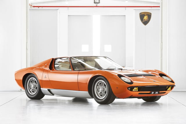 Lamborghini Miura P400 from The Italian Job