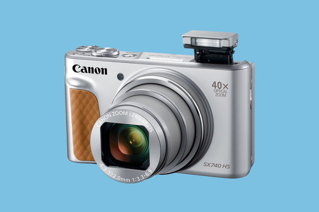 canon powershot sx740 hs announced 740 silver 3qflash hires