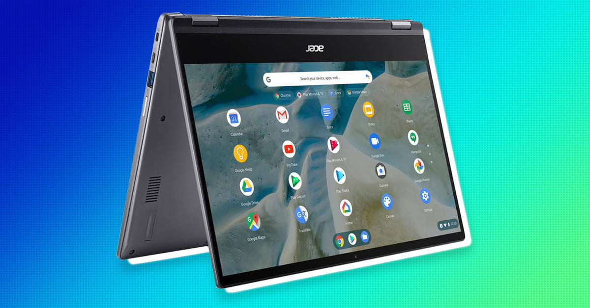 Acer's new Chromebook Spin 514 is powered by AMD's Ryzen processors