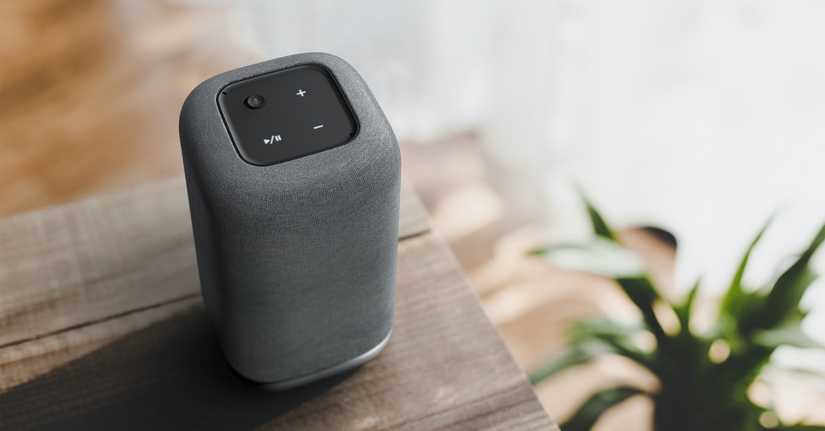 Acer's Halo Smart Speaker with Google Assistant dazzles with its light-up base