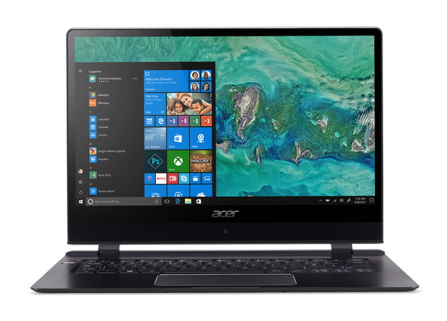 acer laptop swift 7 news ces 2018 sf714 51t straight on
