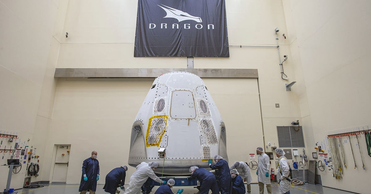 SpaceX Crew Dragon Capsule Prepares for First Manned Mission | Digital Trends