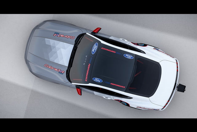 ford introduces electric mustang cobra jet 1400 prototype all