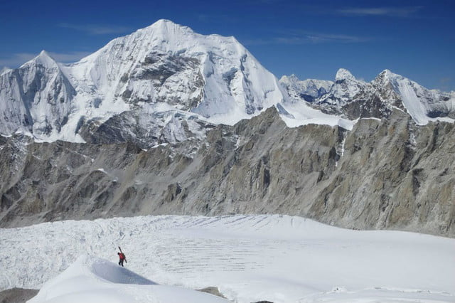 two guys snapchat and strava everest climb alpenglow adrian ballinger