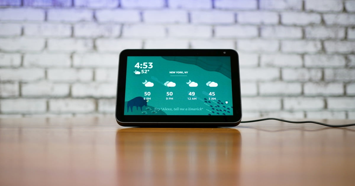 Amazon Echo Show 8 Review Third Time S A Charm Digital Trends