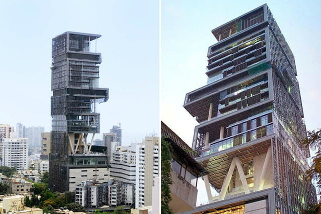 The Biggest Houses In The World Antilia The Biltmore Estate
