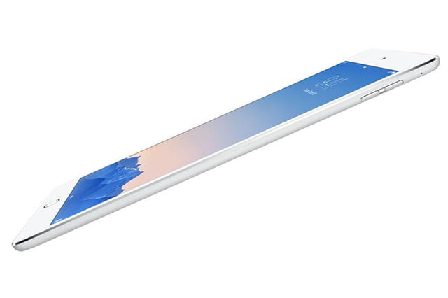 apple ipad air 2 mini 3 launch event news white slant press image