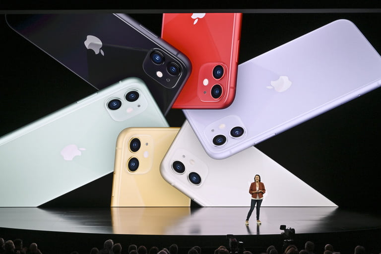iPhone 11 colors | Apple September 2019 Event Keynote