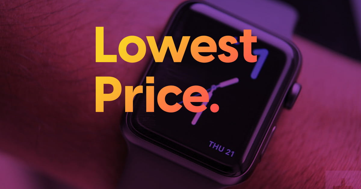 Apple Watch Series 3 back down to cheapest-ever price ahead of Prime Day 2020