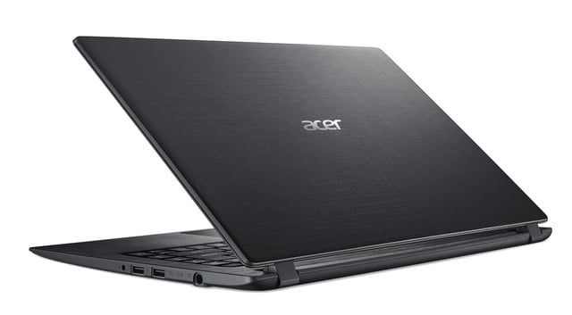 acer introduces new pcs at next event aspire 1 rear left facing