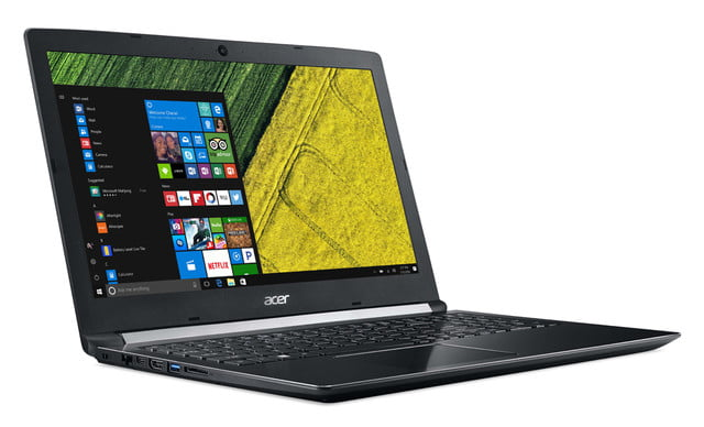 acer introduces new pcs at next event aspire 5 right facing