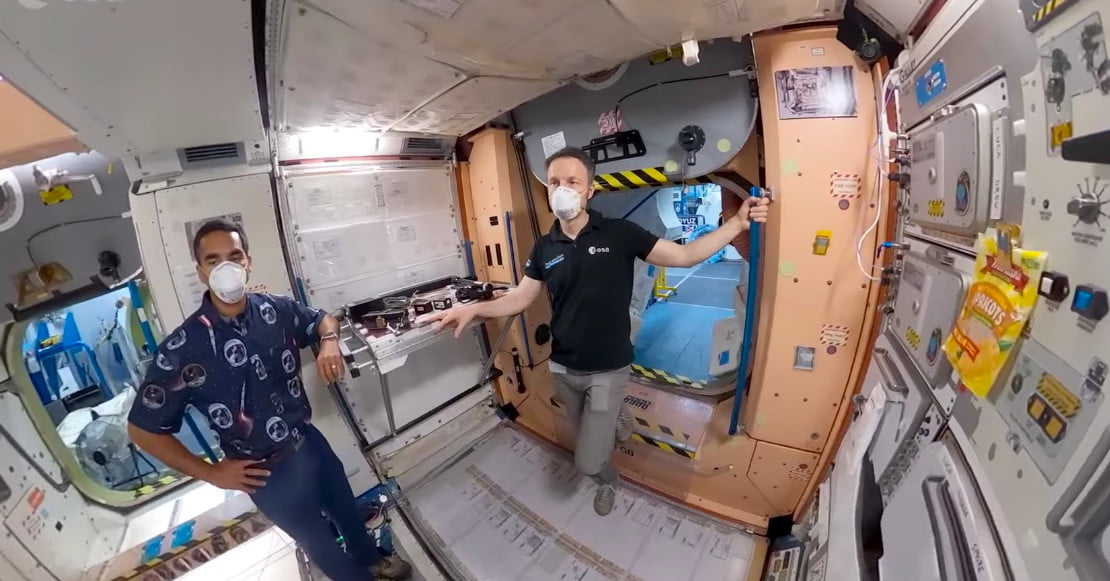 Watch Astronaut Prepare for His Stay at the Space Station