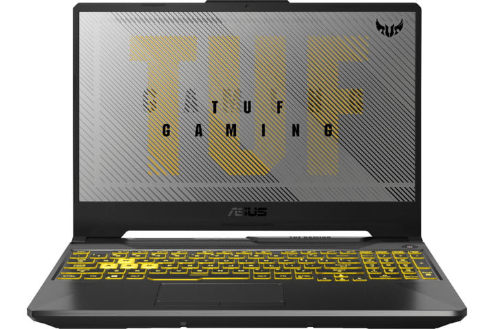 Asus Tuf Gaming Laptop (white background)