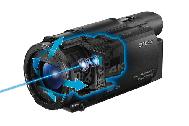 sony action cam and camcorders ax53 0007