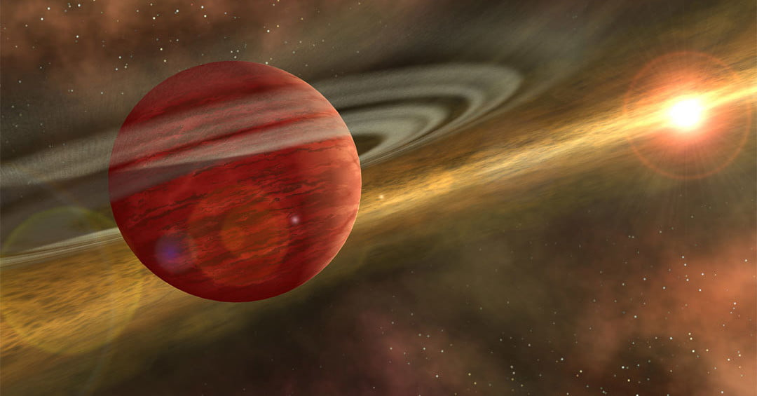 Baby Gas Giant Discovered Wandering Far From Its Parent Star | Digital Trends