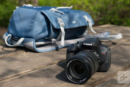 Save 100 On This Canon Eos Rebel T7 Dslr Camera Bundle For Black Friday Digital Trends