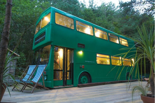 coolest bus to mobile home conversions biggreenbus1