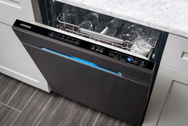 black stainless steel appliances trend waterwall dishwasher 2