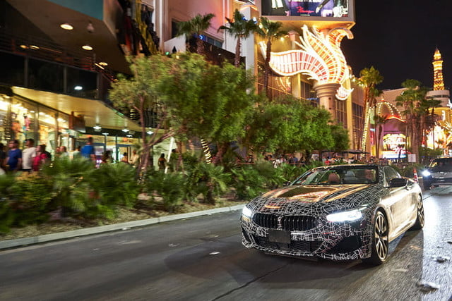 bmws tests its latest 8 series convertibles prototype in death valley bmw convertible testing  3