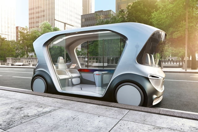 Bosch IOT shuttle official images