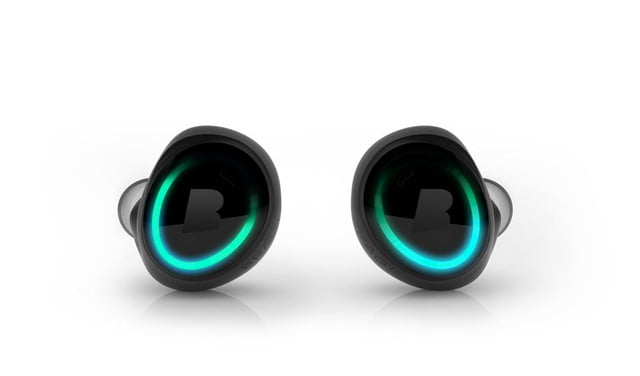 feature packed dash headphones surface at ces bragi front black