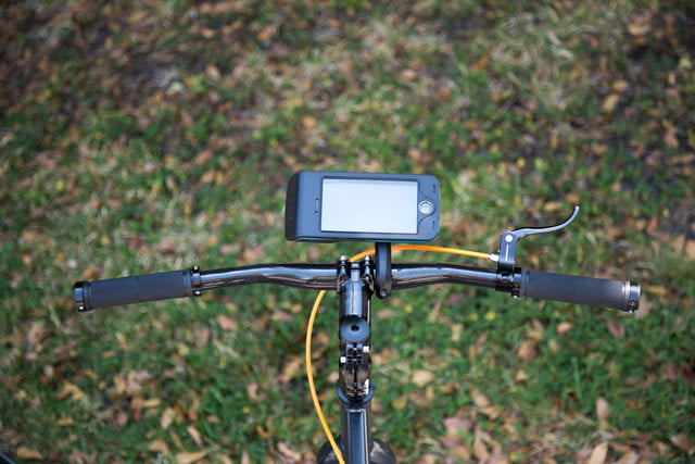 bycle case and app turns iphone into bike computer for tracking rides mount 10