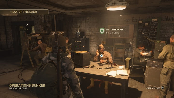 Call of Duty: WW2 Headquarters guide - Operations