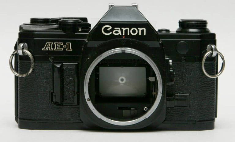 7 cameras that revolutionized photography and changed how we take pictures canon ae 1 front