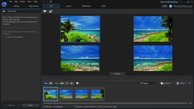 cyberlink director suite 4s new features include action cam video editing panorama photo merge