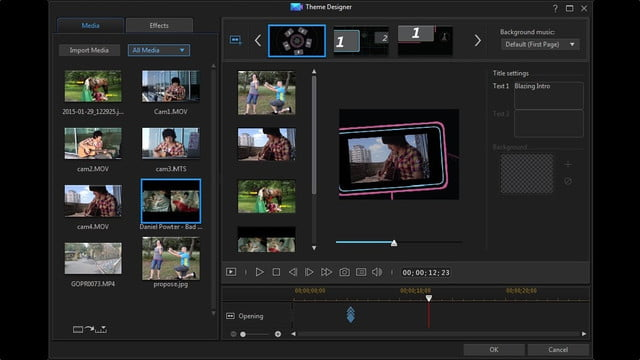 cyberlink director suite 4s new features include action cam video editing theme designer enu
