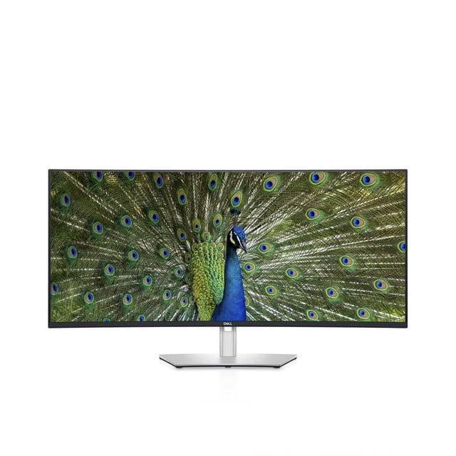 dell refreshes ultrasharp monitors ces 2021 40 curved monitor front