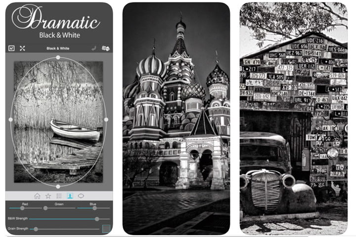 The best black-and-white photo apps for iOS and Android