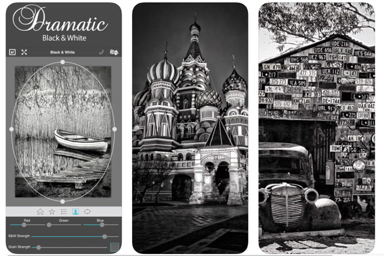 best black and white photo apps dramaticbw