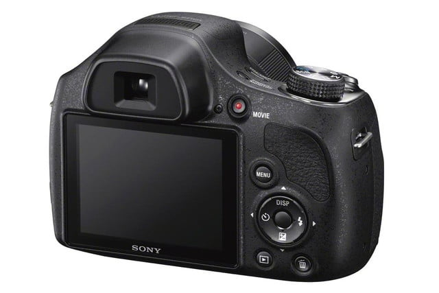 new sony cybershot cameras announced 2014 cp plus dsc h400 rear right 1200