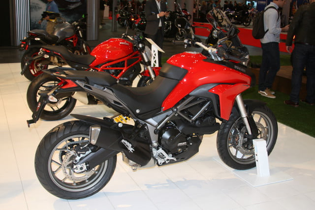 Ducati at the 2016 International Motorcycle Show