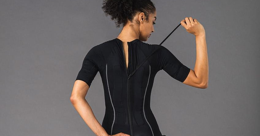 This full-body muscle stimulation suit promises to supercharge short workouts