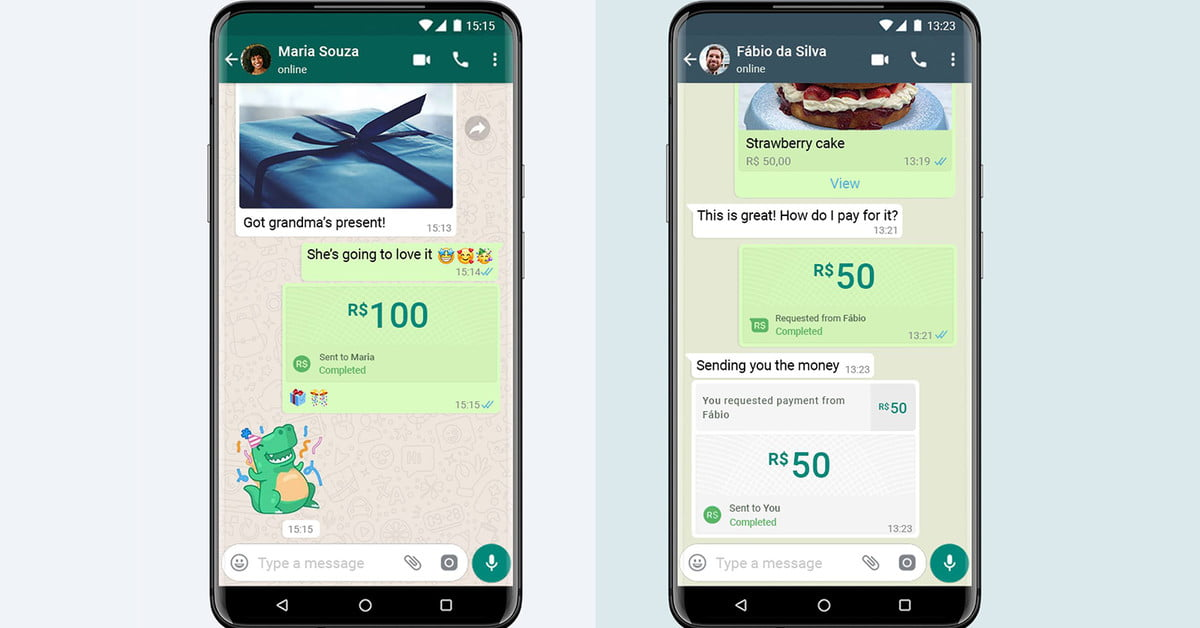 On Monday, WhatsApp began rolling out payments in Brazil, the first country in what is expected to be a wider roll-out of the feature. WhatsApp paymen